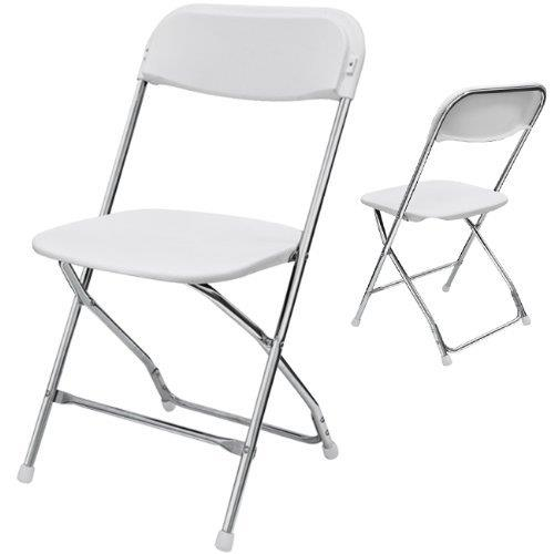 Where to find White Chrome Folding Chair in Bemidji