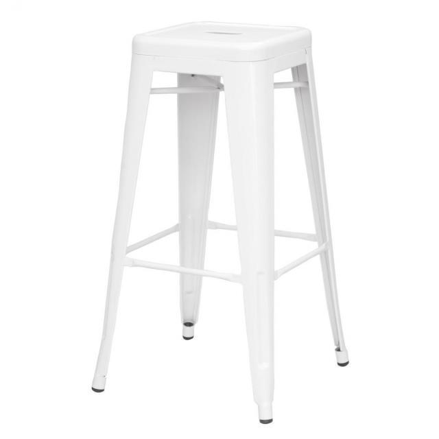 Where to find Steel White Bar Stool in Bemidji