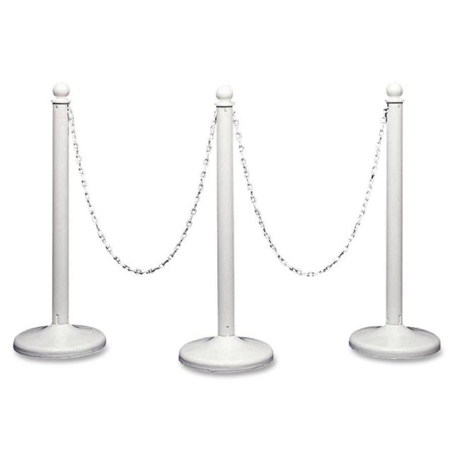 Where to find White Stanchions w Chain Crowd Control in Bemidji