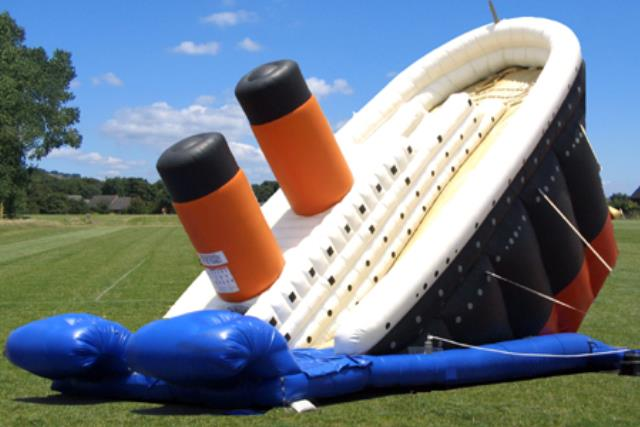 Where to find Totanic Slide Inflatable in Bemidji