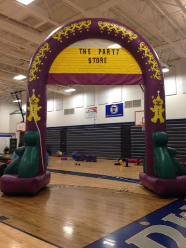 Where to find Personalized Inflatable Arch in Bemidji