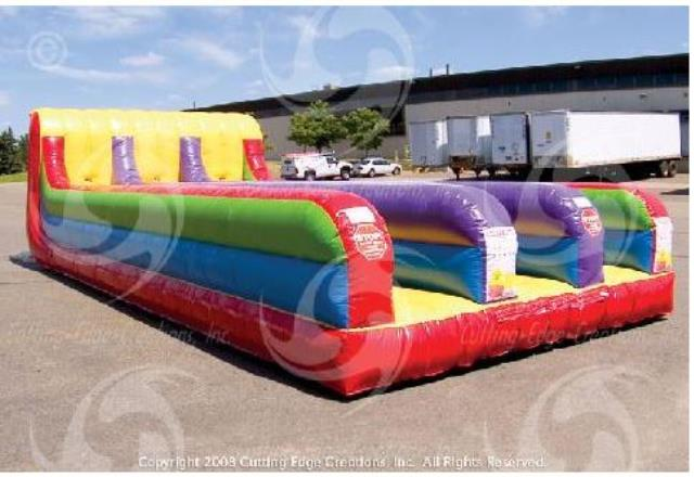 Where to find 3 Lane Bungee Run Inflatable in Bemidji