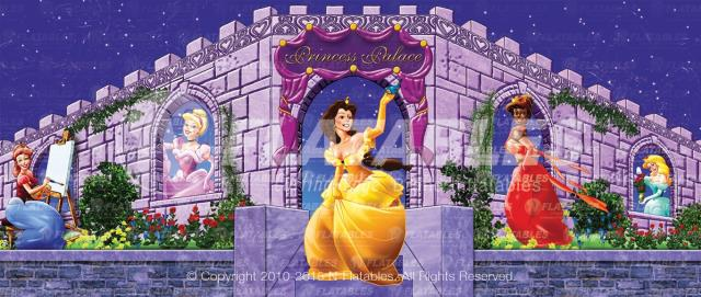 Where to find Princess Banner for 5 in 1 Bounces in Bemidji