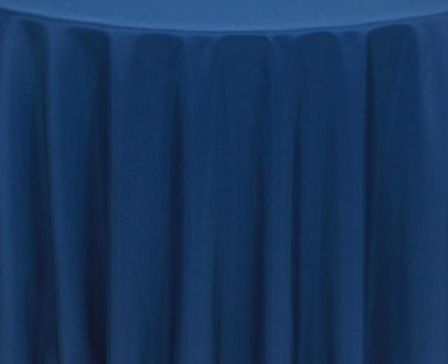 Where to find Navy 60 x120  Banquet Linens in Bemidji