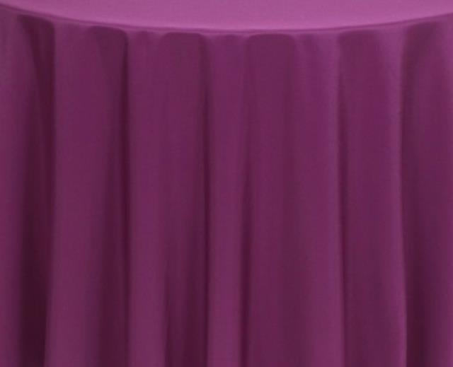 Where to find Plum 60 x120  Banquet Linens in Bemidji