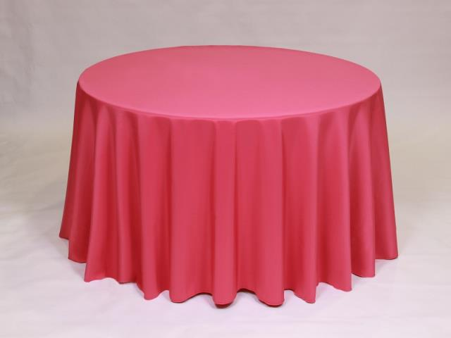 Where to find Hot Pink 90  Round Linens in Bemidji