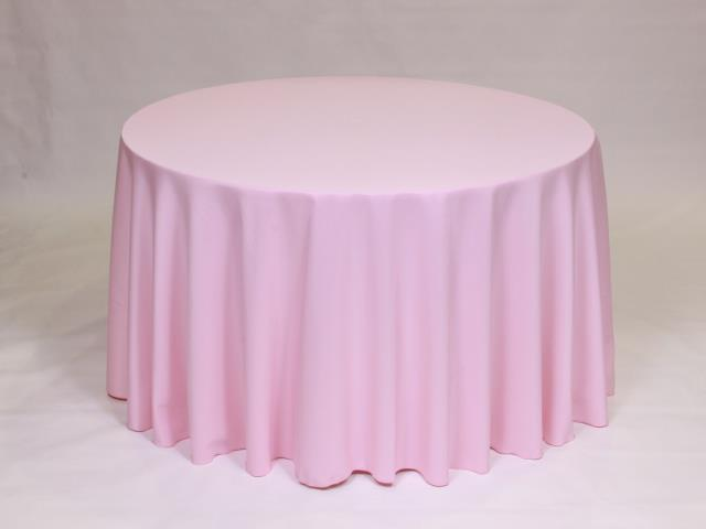 Where to find Light Pink 90  Round Linens in Bemidji