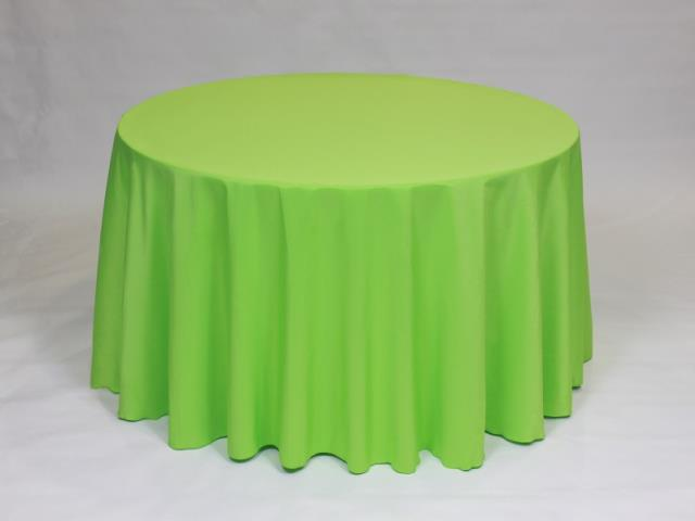 Where to find Lime 90  Round Linens in Bemidji