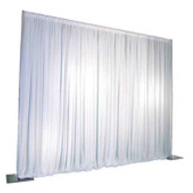 Pipe Drape 7 Foot Panel Extends To 12 Foot Rentals Bemidji