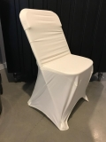 Rental store for Ivory Chair Cover- Spandex in Bemidji MN