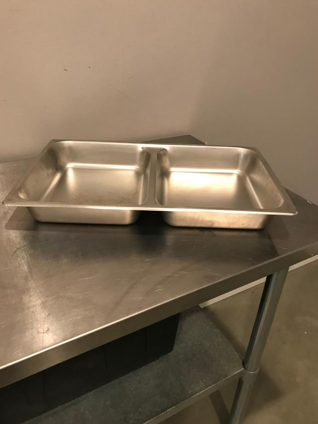 Where to find 2.5  Divided Chafer Food Pan in Bemidji